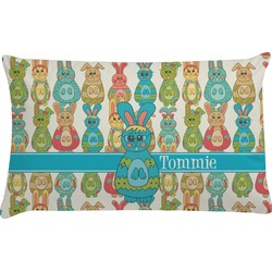 Fun Easter Bunnies Pillow Case (Personalized)