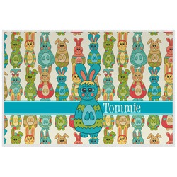 Fun Easter Bunnies Placemat (Laminated) (Personalized)