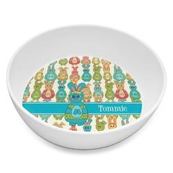 Fun Easter Bunnies Melamine Bowl 8oz (Personalized)