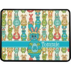 Fun Easter Bunnies Rectangular Trailer Hitch Cover (Personalized)