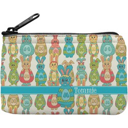Fun Easter Bunnies Rectangular Coin Purse (Personalized)