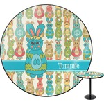 Fun Easter Bunnies Round Table (Personalized)