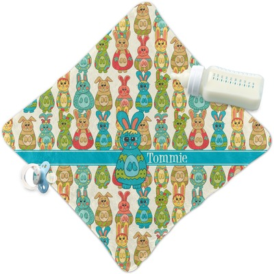 Fun Easter Bunnies Security Blanket (Personalized)