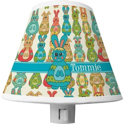 Fun Easter Bunnies Shade Night Light (Personalized)