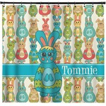 Fun Easter Bunnies Shower Curtain (Personalized)