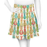 Fun Easter Bunnies Skater Skirt (Personalized)