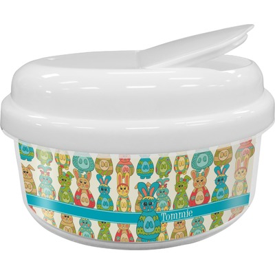 Fun Easter Bunnies Snack Container (Personalized)