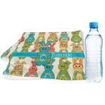 Fun Easter Bunnies Sports & Fitness Towel (Personalized)