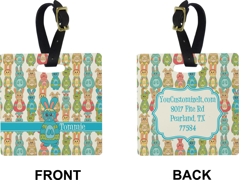Personalized YouCustomizeIt Fun Easter Bunnies Duffel Bag