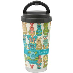 Fun Easter Bunnies Stainless Steel Travel Mug (Personalized)