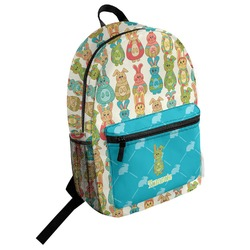 Fun Easter Bunnies Student Backpack (Personalized)
