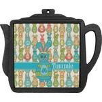 Fun Easter Bunnies Teapot Trivet (Personalized)
