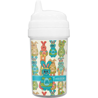 Fun Easter Bunnies Sippy Cup (Personalized)