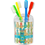 Fun Easter Bunnies Toothbrush Holder (Personalized)
