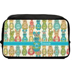 Fun Easter Bunnies Toiletry Bag / Dopp Kit (Personalized)