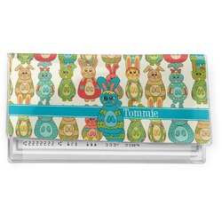 Fun Easter Bunnies Vinyl Check Book Cover (Personalized)