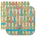Fun Easter Bunnies Facecloth / Wash Cloth (Personalized)