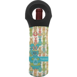 Fun Easter Bunnies Wine Tote Bag (Personalized)