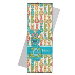 Fun Easter Bunnies Yoga Mat Towel (Personalized)