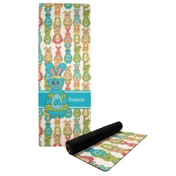 Fun Easter Bunnies Yoga Mat (Personalized)