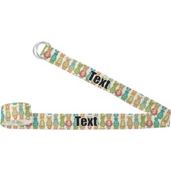 Fun Easter Bunnies Yoga Strap (Personalized)