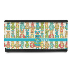 Fun Easter Bunnies Leatherette Ladies Wallet (Personalized)