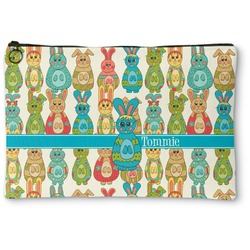 Fun Easter Bunnies Zipper Pouch (Personalized)