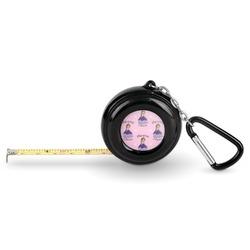 Custom Princess Pocket Tape Measure - 6 Ft w/ Carabiner Clip (Personalized)