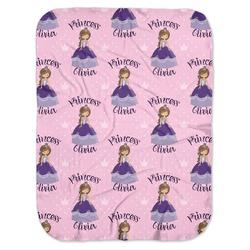 Custom Princess Baby Swaddling Blanket (Personalized)