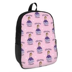 Custom Princess Kids Backpack (Personalized)