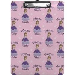 Custom Princess Clipboard (Personalized)