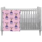 Custom Princess Crib Comforter / Quilt (Personalized)