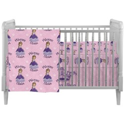 Custom Princess Crib Comforter / Quilt (Personalized)