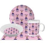 Custom Princess Dinner Set - 4 Pc (Personalized)