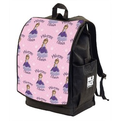 Custom Princess Backpack w/ Front Flap  (Personalized)