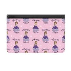 Custom Princess Genuine Leather ID & Card Wallet - Slim Style (Personalized)