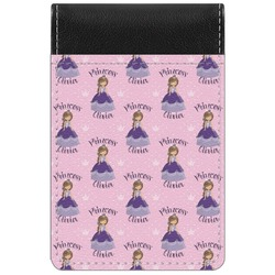 Custom Princess Genuine Leather Small Memo Pad (Personalized)
