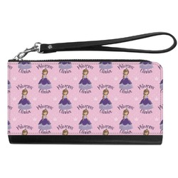 Custom Princess Genuine Leather Smartphone Wrist Wallet (Personalized)