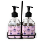 Custom Princess Soap & Lotion Dispenser Set (Glass) (Personalized)