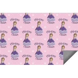 Custom Princess Indoor / Outdoor Rug (Personalized)