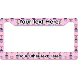 Custom Princess License Plate Frame (Personalized)