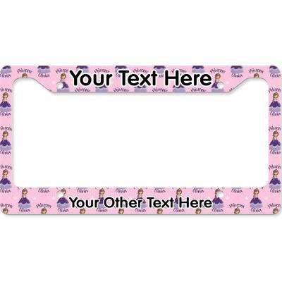 Custom Princess License Plate Frame (Personalized)