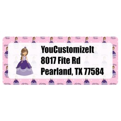 Custom Princess Return Address Labels (Personalized)