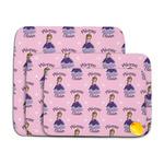 Custom Princess Memory Foam Bath Mat (Personalized)