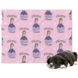 Custom Princess Minky Dog Blanket (Personalized)