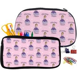 Custom Princess Pencil / School Supplies Bag (Personalized)