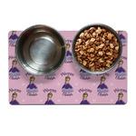 Custom Princess Dog Food Mat (Personalized)