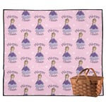 Custom Princess Outdoor Picnic Blanket (Personalized)