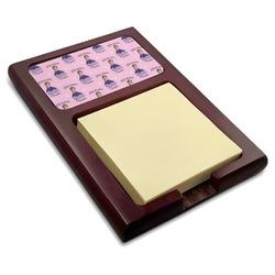 Custom Princess Red Mahogany Sticky Note Holder (Personalized)