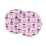 Custom Princess Sandstone Car Coasters (Personalized)